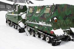 De auto van de winter Royalty-vrije Stock Foto's