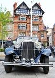 De auto van de zonnestraal Royalty-vrije Stock Fotografie