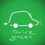 De auto van Eco Royalty-vrije Stock Fotografie