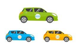 De auto van Eco Royalty-vrije Stock Afbeelding