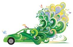 De Auto van Ecologic stock illustratie