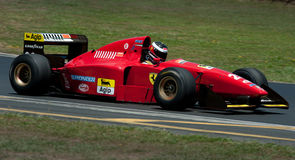 De auto van Ferrari F1 Royalty-vrije Stock Foto's
