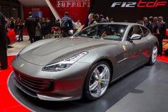 2015 de auto van Ferrari F12tdf Stock Foto