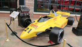 1980 de auto van Fittipaldi F8 F1 Royalty-vrije Stock Afbeeldingen