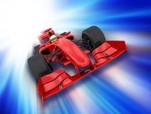 De auto van Formule 1 royalty-vrije illustratie