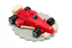 De auto van Formule 1 van de marsepein stock afbeeldingen