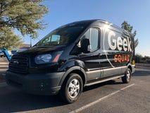 De auto van de Geekploeg stock afbeelding