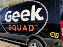 De auto van de Geekploeg royalty-vrije stock afbeelding