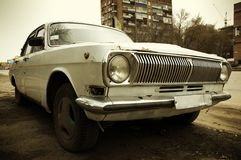 De auto van Grunge Stock Afbeeldingen