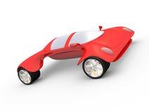 De Auto van het concept A #1 royalty-vrije illustratie
