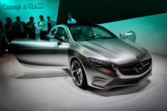 De Auto van het concept Royalty-vrije Stock Afbeeldingen