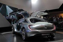 De Auto van het Concept van Benz van Mercedes F125 Stock Afbeelding