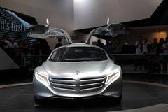 De Auto van het Concept van Benz van Mercedes F125 Stock Foto