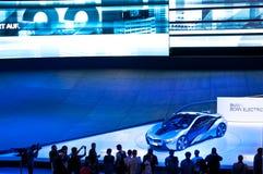 De Auto van het Concept van BMW i8 op IAA 2011 Royalty-vrije Stock Fotografie