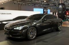 De auto van het Concept van de Coupé van BMW Gran Stock Foto's