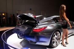 De auto van het Concept van de Essentie van Infiniti Royalty-vrije Stock Afbeelding