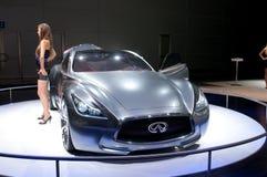 De auto van het Concept van de Essentie van Infiniti Royalty-vrije Stock Fotografie