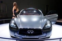 De auto van het Concept van de Essentie van Infiniti Royalty-vrije Stock Afbeeldingen