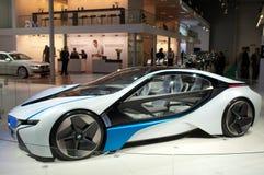De auto van het Concept van EfficientDynamics van de Visie van BMW Stock Foto's