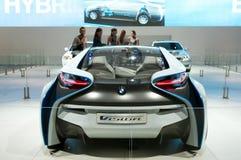 De auto van het Concept van EfficientDynamics van de Visie van BMW Stock Afbeeldingen
