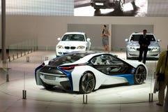 De auto van het Concept van EfficientDynamics van de Visie van BMW Stock Fotografie