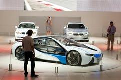 De auto van het Concept van EfficientDynamics van de Visie van BMW Stock Afbeelding