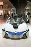 De auto van het Concept van EfficientDynamics van de Visie van BMW Stock Foto