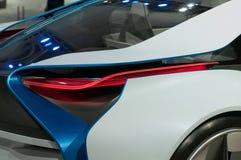 De auto van het Concept van EfficientDynamics van de Visie van BMW, detail Stock Foto's