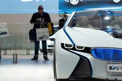 De auto van het Concept van EfficientDynamics van de Visie van BMW, detail Royalty-vrije Stock Fotografie