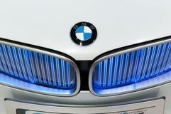 De auto van het Concept van EfficientDynamics van de Visie van BMW, detail Stock Afbeelding