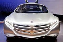 De Auto van het Concept van Mercedes-Benz F125 Stock Fotografie