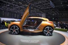 De auto van het Concept van Renault Captur Royalty-vrije Stock Foto's