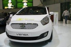 De auto van het Concept van Venga van Kia Stock Foto's