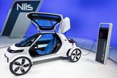 De Auto van het Concept van Volkswagen Nils Stock Foto's