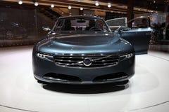 De Auto van het Concept van Volvo u bij IAA Stock Foto