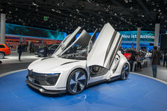De auto van het de Sportconcept van Volkswagen Golf GTE Royalty-vrije Stock Afbeeldingen