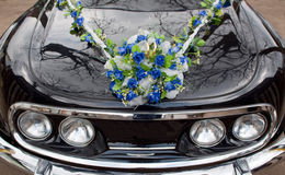 De auto van het huwelijk Stock Fotografie