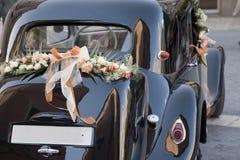 De Auto van het huwelijk Stock Afbeeldingen