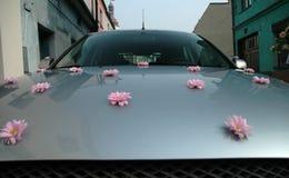 De auto van het huwelijk Royalty-vrije Stock Afbeelding