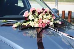 De auto van het huwelijk Stock Afbeelding