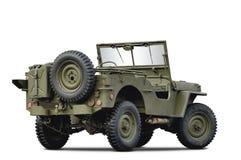 De auto van het leger Stock Foto's