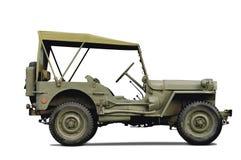 De auto van het leger Royalty-vrije Stock Foto
