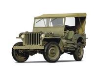 De auto van het leger Royalty-vrije Stock Afbeelding