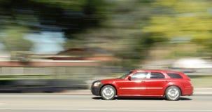 De auto van het motieonduidelijke beeld Royalty-vrije Stock Afbeeldingen