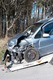 De auto van het ongeval Stock Afbeelding