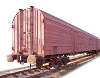 De auto van het spoor. Wegen Royalty-vrije Stock Fotografie