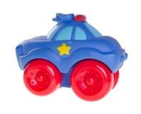 De auto van het stuk speelgoed voor baby, het stuk speelgoed van de Baby auto op achtergrond stock foto's