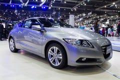 De Auto van Honda CRZ op de Internationale Motor Expo van Thailand Royalty-vrije Stock Foto
