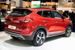 2017 de auto van Hyundai Tucson Stock Foto's