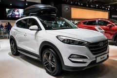 2017 de auto van Hyundai Tucson Stock Afbeelding